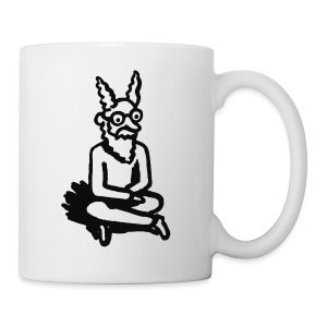 The Zen of Nimbus Kids' t-shirt / Black and white design - Coffee/Tea Mug