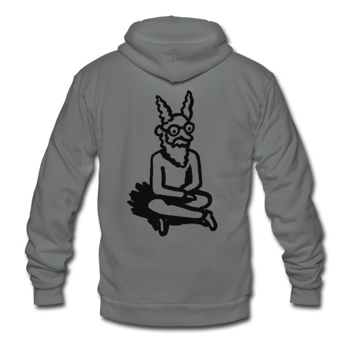 The Zen of Nimbus Kids' t-shirt / Black and white design - Unisex Fleece Zip Hoodie