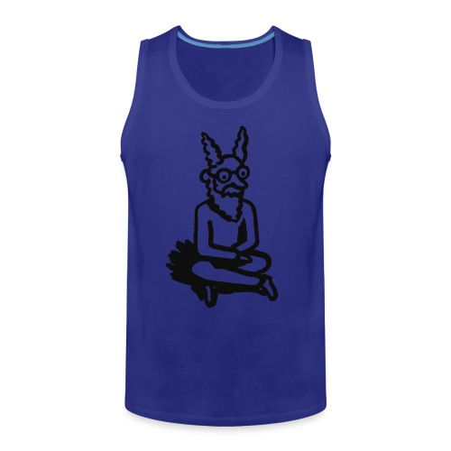 The Zen of Nimbus Kids' t-shirt / Black and white design - Men's Premium Tank
