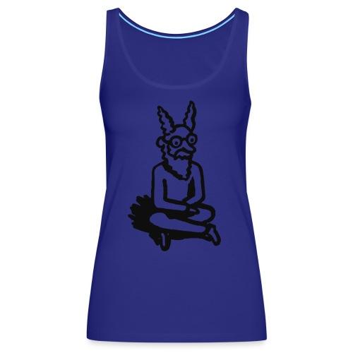 The Zen of Nimbus Kids' t-shirt / Black and white design - Women's Premium Tank Top