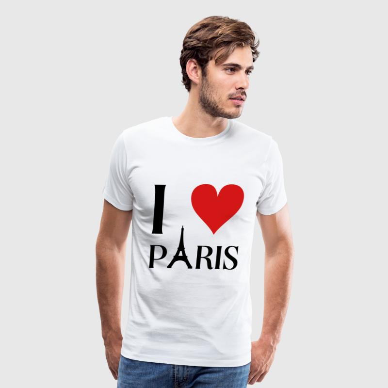 I love Paris T-Shirts - Men's Premium T-Shirt
