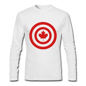 Captain Canada - Men's Long Sleeve T-Shirt by Next Level