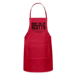 Beam Me Up Scotty - Adjustable Apron