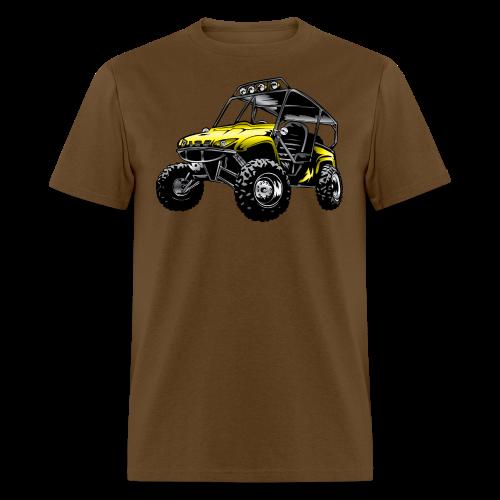 UTV side-x-side yamaha, yellow - Men's T-Shirt