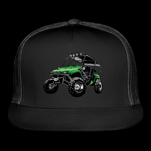 UTV side-x-side, green - Trucker Cap