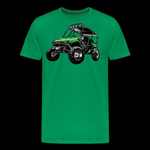UTV side-x-side, green - Men's Premium T-Shirt