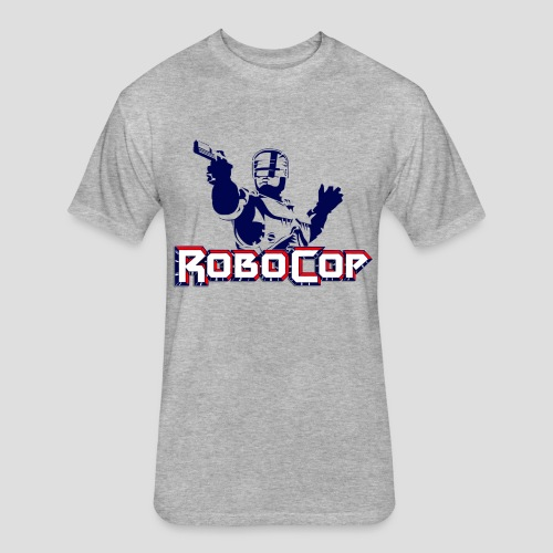 RoboCop - Fitted Cotton/Poly T-Shirt by Next Level