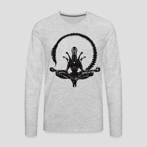 Zen Alien - Men's Premium Long Sleeve T-Shirt