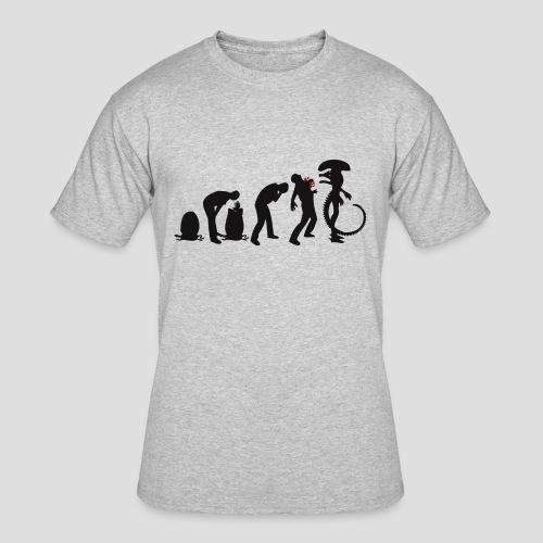Alien Evolution - Men's 50/50 T-Shirt