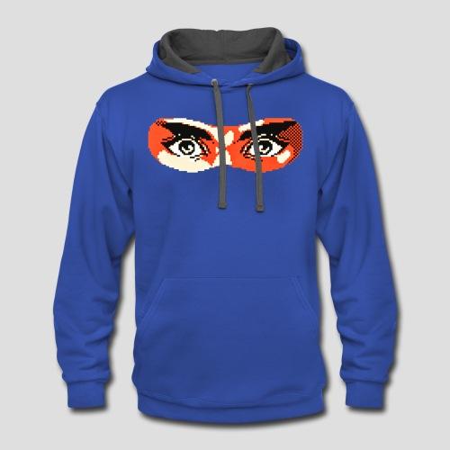Ninja Gaiden mask - Contrast Hoodie
