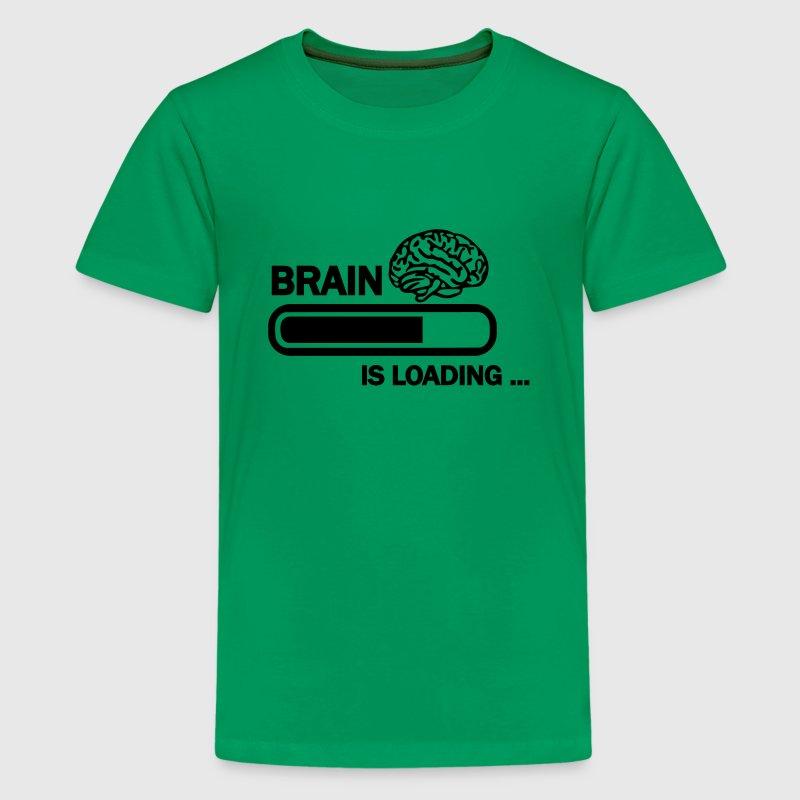 Brain loading Kids' Shirts - Kids' Premium T-Shirt
