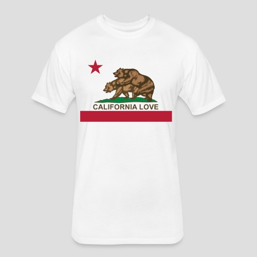 California Love - Fitted Cotton/Poly T-Shirt by Next Level