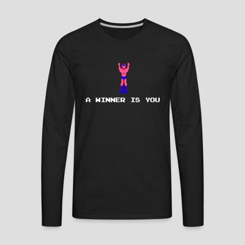 A winner is you - Star Man - Men's Premium Long Sleeve T-Shirt