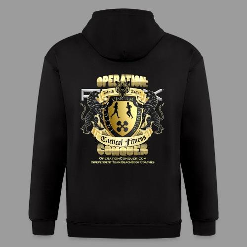 Womens P90X T-Shirt - Men's Zip Hoodie