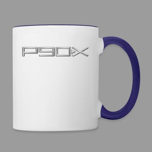 Womens P90X T-Shirt - Contrast Coffee Mug