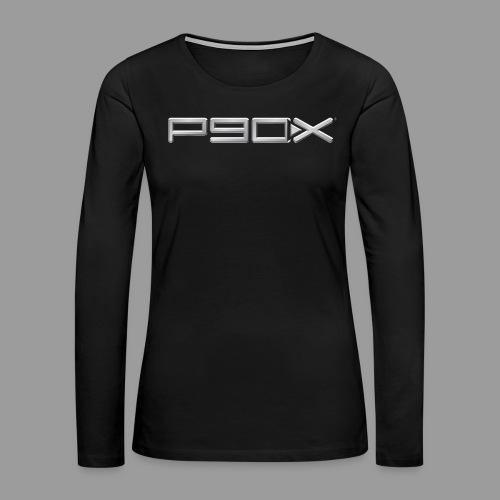 Womens P90X T-Shirt - Women's Premium Long Sleeve T-Shirt
