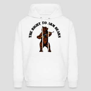 The right to arm bears - Men's Hoodie