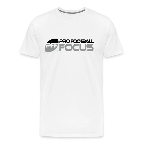 PFF 3-Colour Horizontal T - Men's Premium T-Shirt