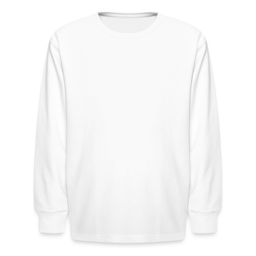 Plain woman's T-Shirt - Kids' Long Sleeve T-Shirt