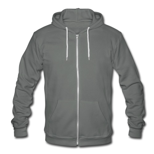 Plain woman's T-Shirt - Unisex Fleece Zip Hoodie