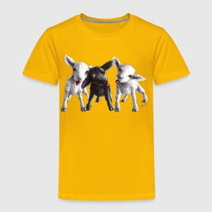 cheeky sheep - Toddler Premium T-Shirt