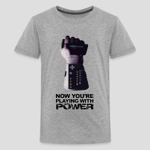 Now you're playing with power - Kids' Premium T-Shirt