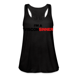 I'm a WisconSINNER - Women's Flowy Tank Top by Bella