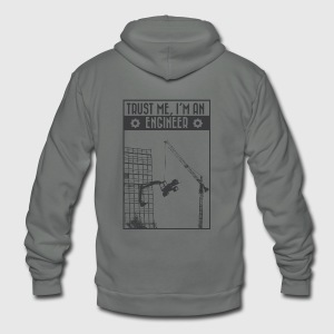 Trust me, I'm an engineer T-Shirts - Unisex Fleece Zip Hoodie by American Apparel