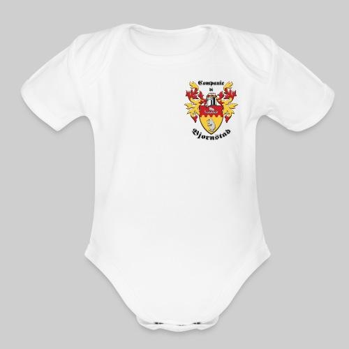 Companie di Bjornstad I - Organic Short Sleeve Baby Bodysuit