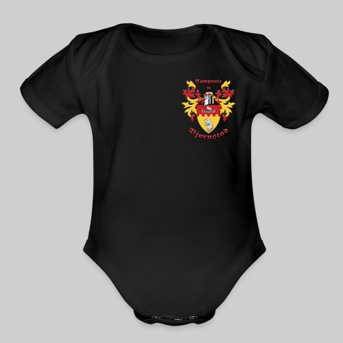 Companie di Bjornstad II - Organic Short Sleeve Baby Bodysuit