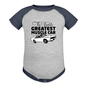 Greatest Muscle Car - Javelin - Baby Contrast One Piece