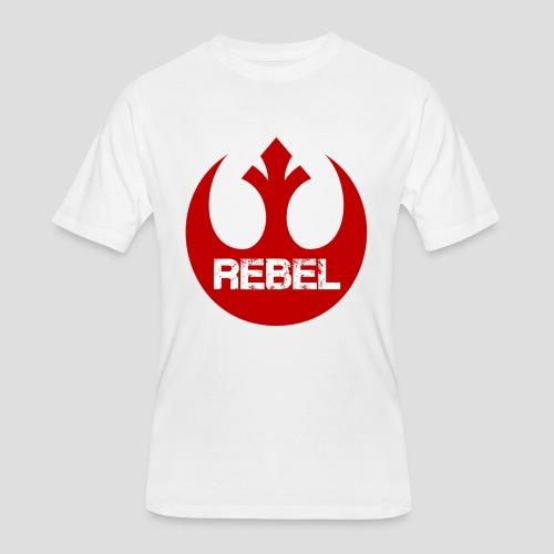 Rebel Insignia  - Men's 50/50 T-Shirt