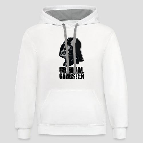 Vader Original Gangster - Contrast Hoodie
