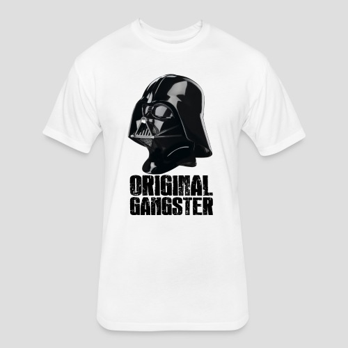 Vader Original Gangster - Fitted Cotton/Poly T-Shirt by Next Level