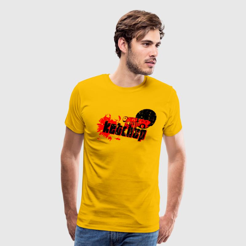 Pulp Fiction T-Shirt (Quentin Tarantino, Ketchup) T-Shirts - Men's Premium T-Shirt