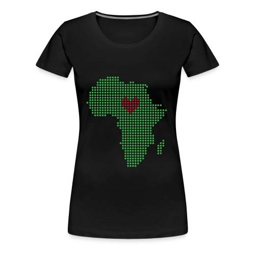 For the Love of Africa - Women's Premium T-Shirt