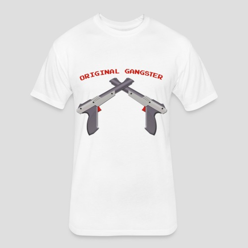 Original Gangster Zappers - Fitted Cotton/Poly T-Shirt by Next Level