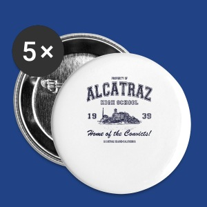 Alcatraz High School - Small Buttons