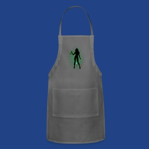 Green Bong Girl-2 - Adjustable Apron