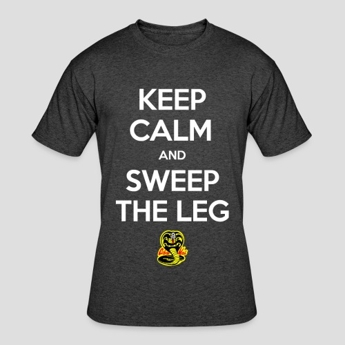 Keep Calm and Sweep the Leg - Men's 50/50 T-Shirt