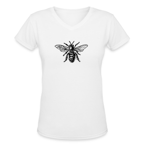 Bee T-Shirt - Women's V-Neck T-Shirt