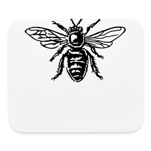 Bee T-Shirt - Mouse pad Horizontal