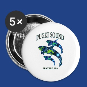 Puget Sound - Seattle - Small Buttons
