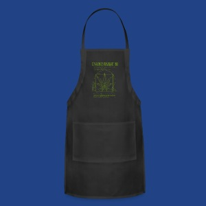 Vitruvian Grass - Adjustable Apron