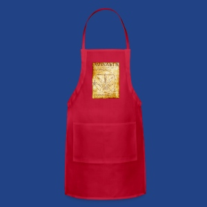 Vitruvian Cannabis-1 - Adjustable Apron
