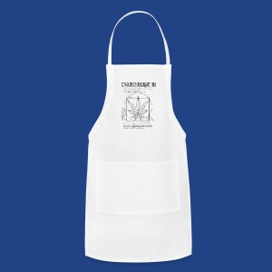 Vitruvian Cannabis - Adjustable Apron