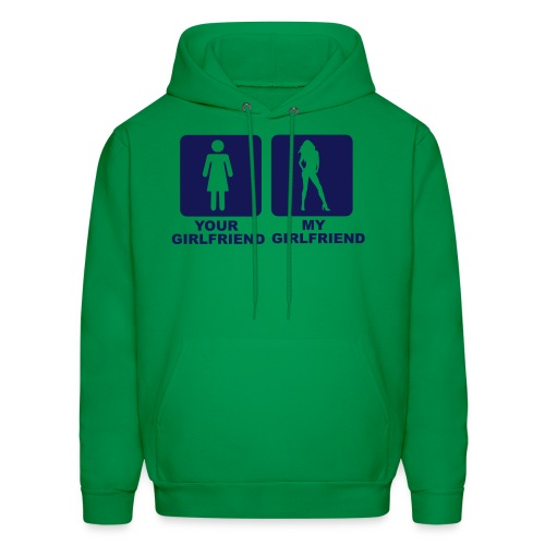 YOUR GF , MY GF - Men's Hoodie