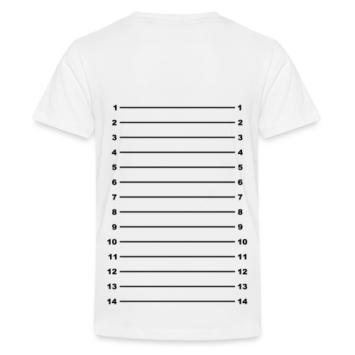 Length Check T-Shirt Plain