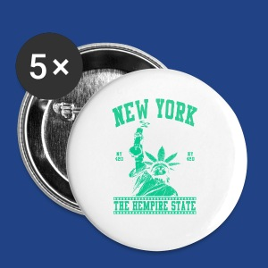 New York-Statue of Liberty - Small Buttons