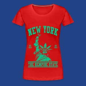 New York-Statue of Liberty - Women's Premium T-Shirt